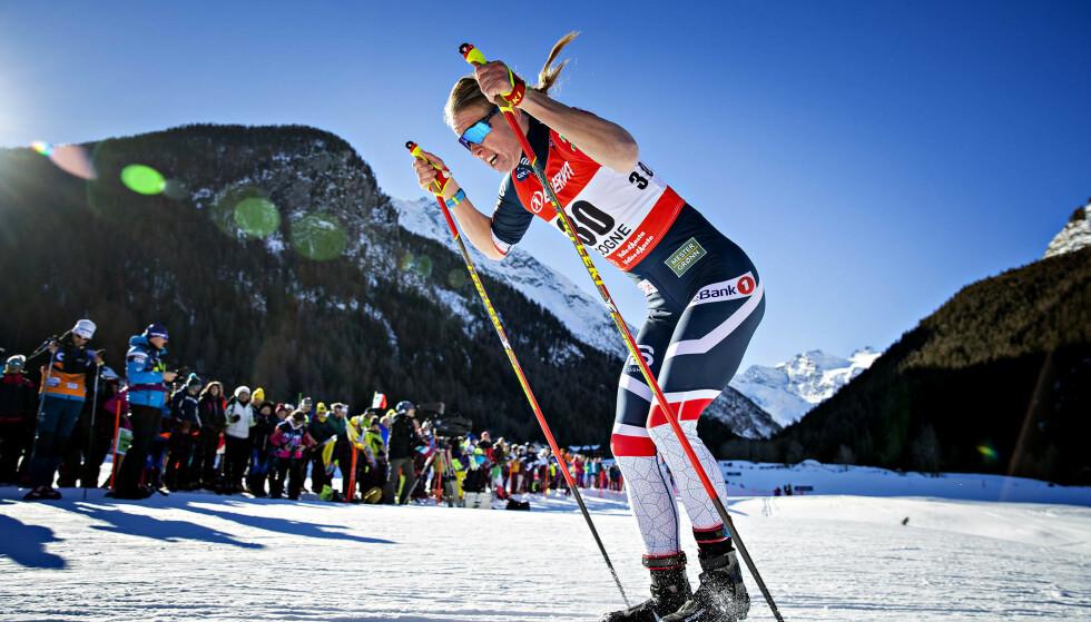 UTE: Silje Øyre Slind tok seg ikke videre til finalen. Foto: Bjørn Langsem/DAGBLADET.
