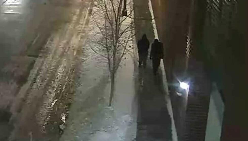 OVERVÅKNING: Politiet gikk ut med disse overvåkningsbildene etter angrepet. Foto: Chicago-politiet