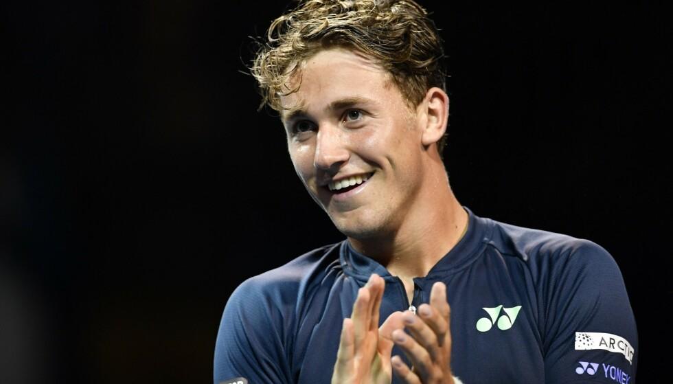 KVALIFISERT: Casper Ruud er klar for ATP-turneringen i Rio. Foto: ATP / Saaed Khan