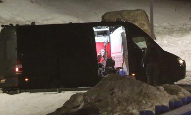 BOMBEGRUPPA: Oslo-politiets bombegruppe bisto Sør-Øst politidistrikt med undersøkelsene. Foto: Theo Aasland Valen