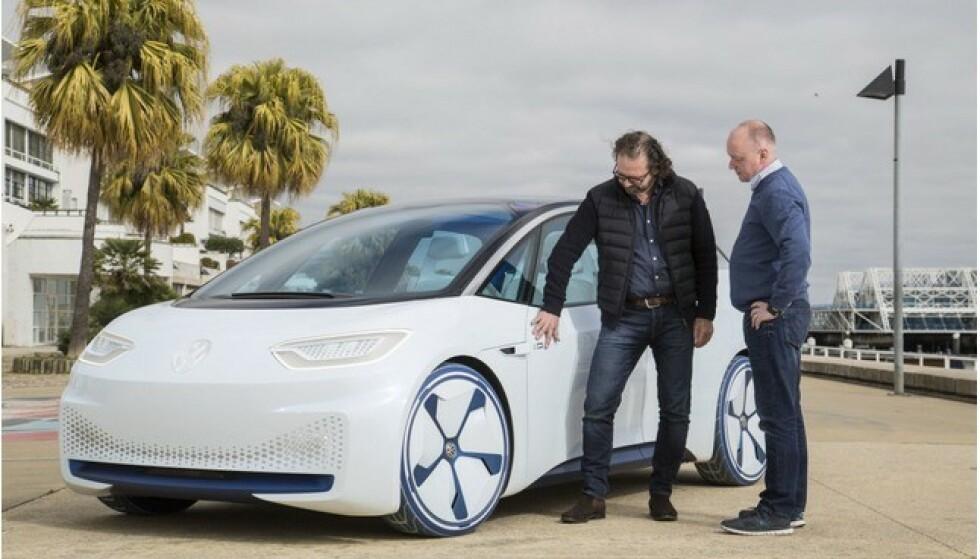 NORGES MEST SOLGTE? Harald Eibak påstår at dette blir den mest solgte bilen i Norge neste år. Foto: Ingo Barenschee