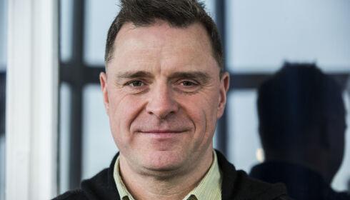 LEGGER SEG FLAT: Espen Egil Hansen i Aftenposten. Foto: NTB Scanpix