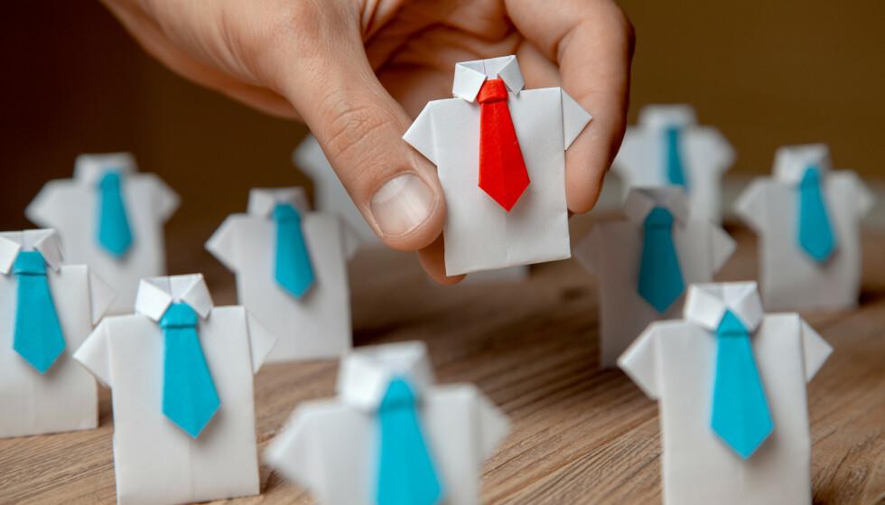 Sjef: Vi trenger ledelse, men det er i ferd med å gå for langt. Foto: Shutterstock / NTB scanpix