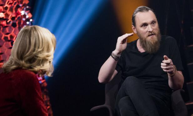 INTERVJUET: Praten med Erlend Ropstad ble flyttet i forrige ukes «Lindmo». Foto: NRK