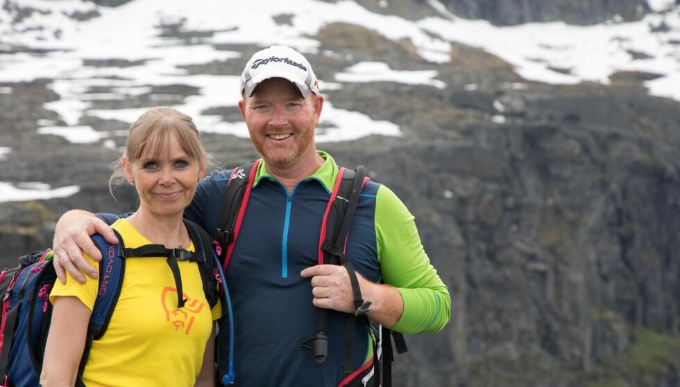 OMKOM: Jarle Hegerland og Ann-Cathrin Losvik omkom i helikopterulykke på Røldalsfjeller i Hordaland 17. februar. Foto: Lars Losvik