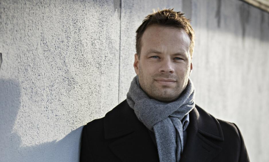 IKKE RELIGIØS I DAG: I dag har stortingsrepresentant Jon Engen-Helgheim ingen tilknytning til miljøet han var en del av fram til 14-årsalderen. Stortingsrepresentanten representerer Buskerud på Stortinget, og har funnet sitt kall i Frp, hvor han blant annet kjemper mot religiøse kleskoder for innvandrere. Foto: Jørn H. Moen