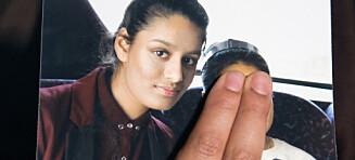 IS-bruden Shamima Begum (19) vil hjem til England - nå mister hun statsborgerskapet