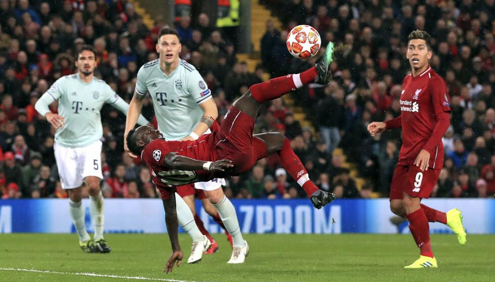BOM, BOM, BOM: Liverpool viste Anfield-publikummet mye lekkert spill, men målene uteble. Foto: Peter Byrne / PA via AP / NTB Scanpix