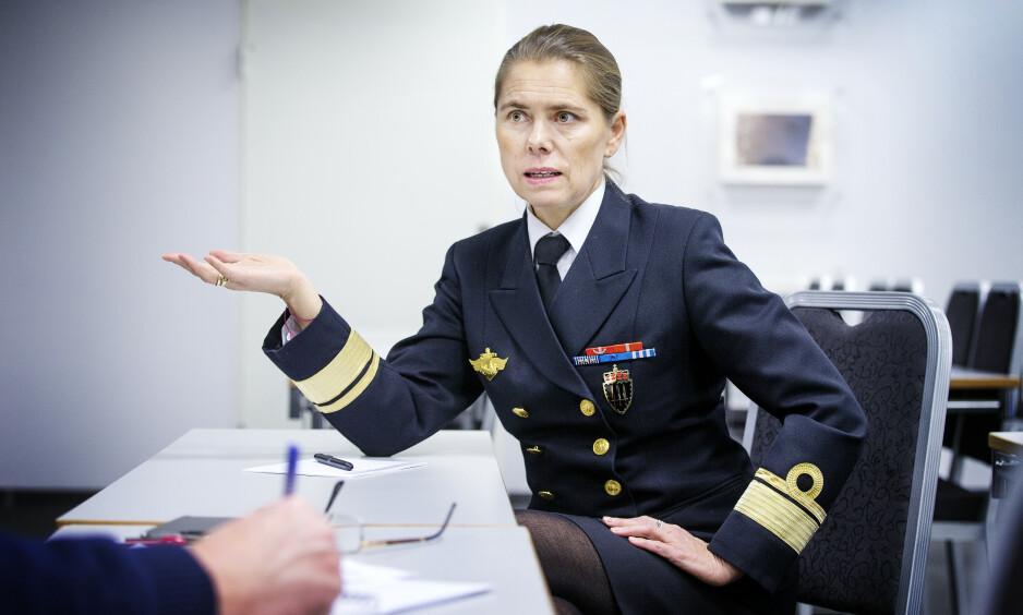 SJOKKTALL: Admiral Louise Dedichen reagerer kraftig på sjokktallene som ble lagt fram tirsdag. Foto: Henning Lillegård / Dagbladet