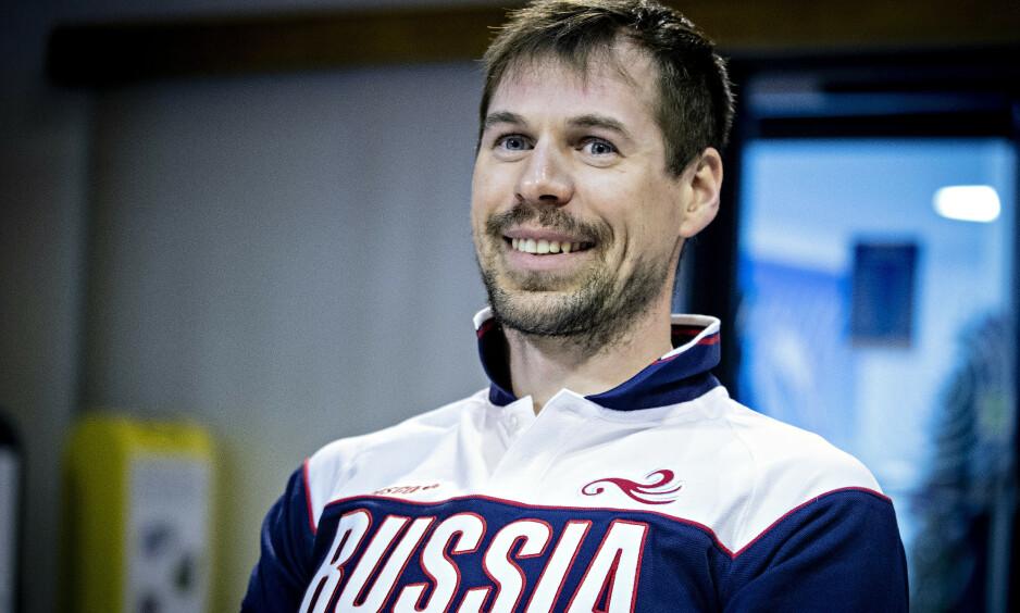 KLAR FOR KAMP: Sergej Ustjugov kommer ikke til å gi ved dørene i torsdagens VM-sprint. Foto: Bjørn Langsem / Dagbladet