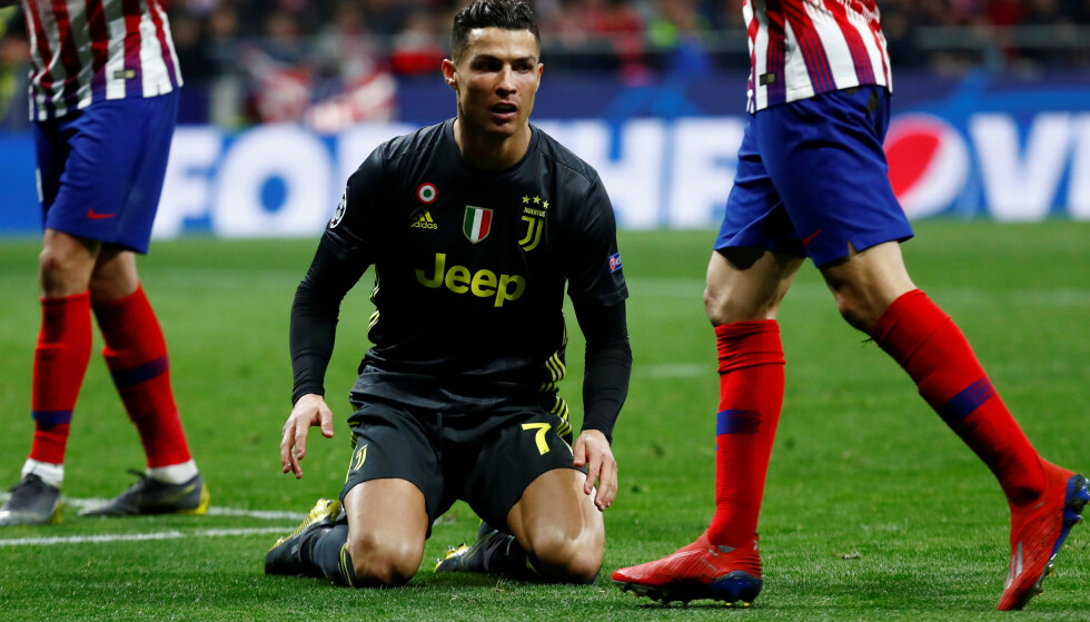 SKUFFET: Cristiano Ronaldo. Foto: NTB Scanpix