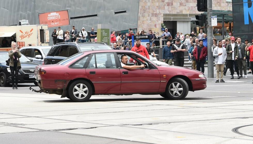 DØMT: James Gargasoulas kjørte flere runder i en rundkjøring før han pløyde inn i en menneskemengde og drepte seks personer. Foto: Tony Gough / Newspix / REX / Shutterstock / NTB scanpix