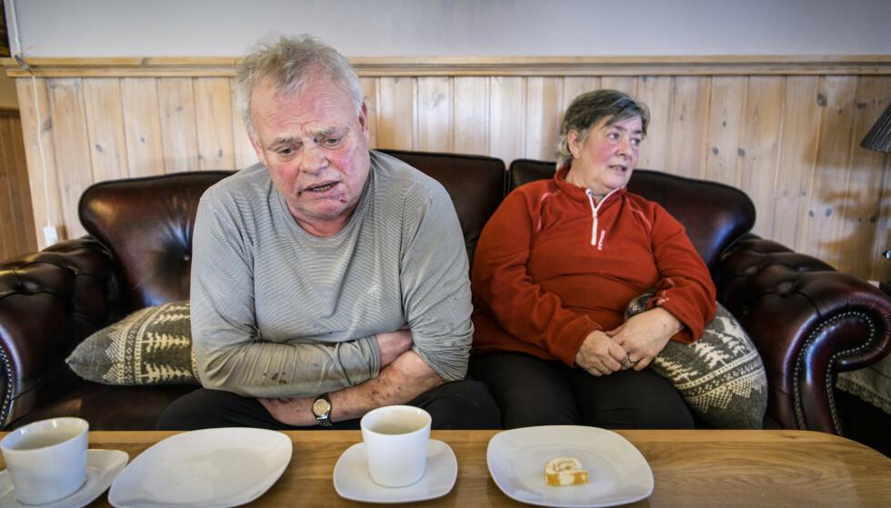 PREGET: Et halvt år etter ranet, er ekteparet fortsatt sterkt preget. Foto: Lars Eivind Bones / Dagbladet