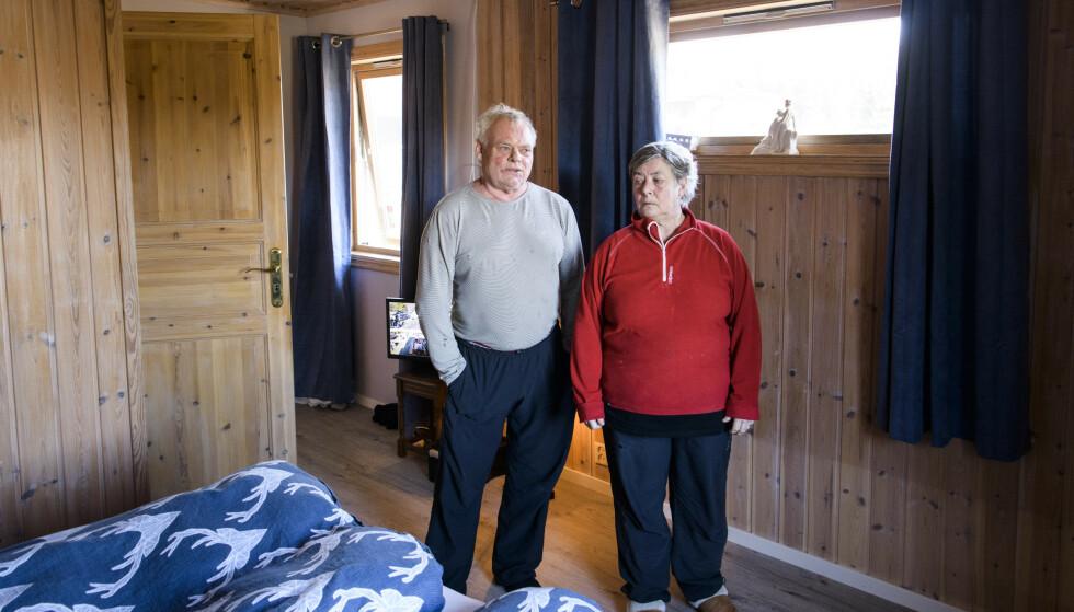 HJEMME: Soverommet er det samme. Ekteparet har foreløpig valgt å bli boende i det som har vært hjemmet deres i 20 år. Foto: Lars Eivind Bones / Dagbladet