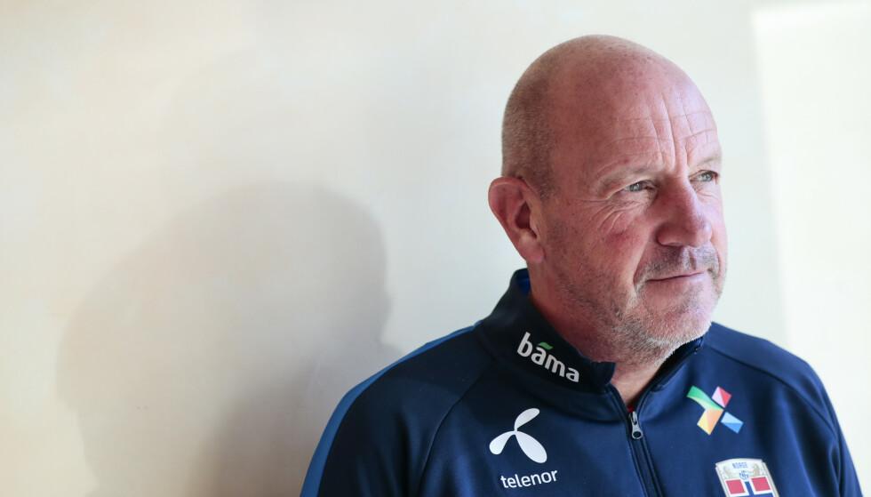 SLUTTER: Nils Johan Semb er ferdig som sportssjef for A-landslaget. Foto: Lise Åserud / NTB scanpix