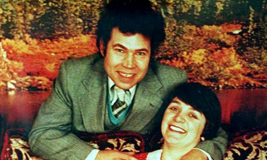 DREPTE SAMMEN: Ekteparet Fred og Rose West skal ha drept minst 12 kvinner over en periode på to tiår. Foto: NTB Scanpix