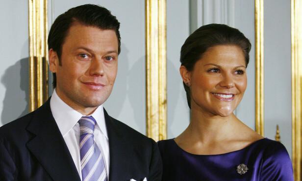 2009: Dette bildet er tatt i anledning annonseringen av forlovelsen mellom kronprinsesse Victoria og prins Daniel. Foto: NTB Scanpix
