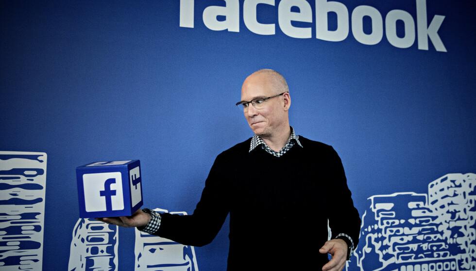 ÅPNER OPP: Facebook sjefen i Norge Rune Paulseth på kontoret i Barcode. Foto: Nina Hansen / DAGBLADET