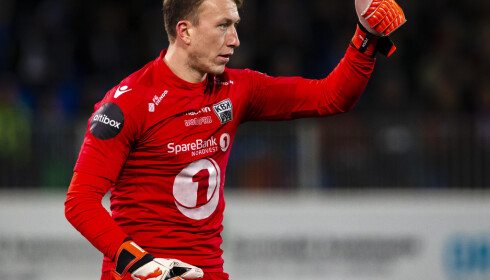 SOLGT: Sean McDermott var Kristiansunds beste spiller i fjor. Foto: NTB/Scanpix