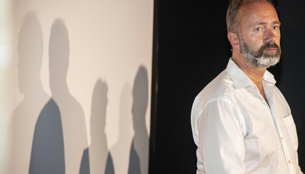 ØNSKER BEKLAGELSE: Trond Giske krever en unnskyldning fra VG etter deres første sak om videoen av ham på Bar Vulkan i Oslo. Foto: Hans Arne Vedlog / Dagbladet