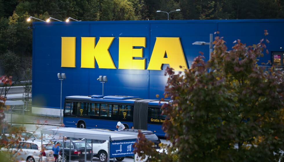 DROPPES: Fire nye IKEA-varehus droppes. Bildet er av IKEA på Slependen. Foto: Lise Åserud / NTB scanpix.