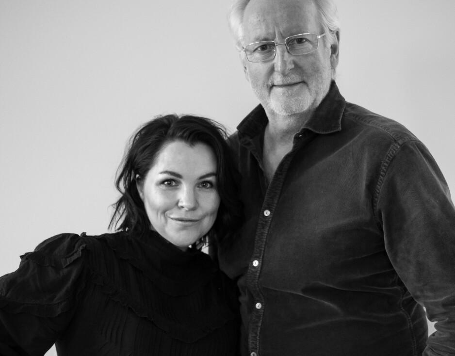 KREATIVT PAR: Anita Rennan og Eyvind Hellstrøm slipper 25. mars sin nye bok om Paris. Foto: Anita Rennan
