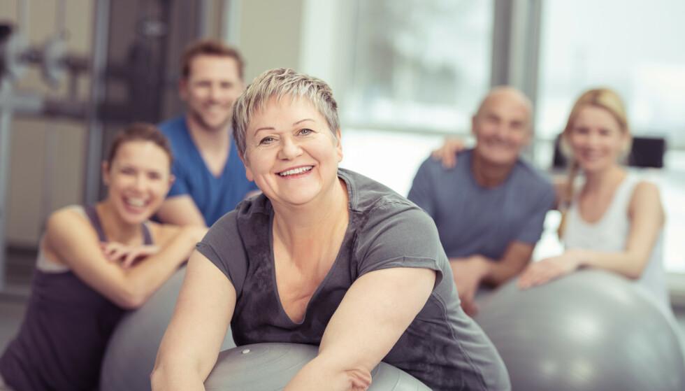 EFFEKTIVT: Selv om trening har begrenset effekt på lungekapasiteten, bidrar fysisk aktivitet i betydelig grad til økt arbeidskapasitet, bedring av tung pust og økt livskvalitet, forteller seksjonsoverlege og lungespesialt Linda Breidablik ved Granheim lungesykehus. Foto: Scanpix
