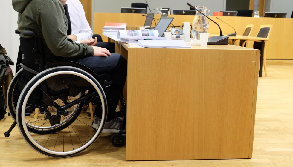 Han fikk omfattende lammelser i kroppen, som har påvirket livet hans i stor grad. Foto: Amanda Walnum/Dagbladet