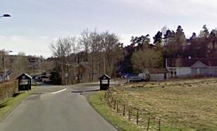 STAVERNFESTIVALEN: I Gamle Stavernsveien ble en 29 år gammel mann angrepet av en pirattaxi-sjåfør. Foto: Google maps / skjermdump