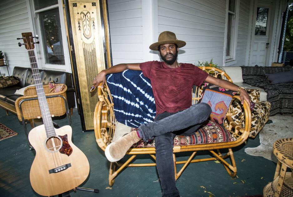 NY STJERNE: Texaneren Gary Clark Jr. er i ferd med å befeste posisjonen som den fremste unge bluesartisten i dag. Foto: Amy Harris / Invision / AP / NTB Scanpix