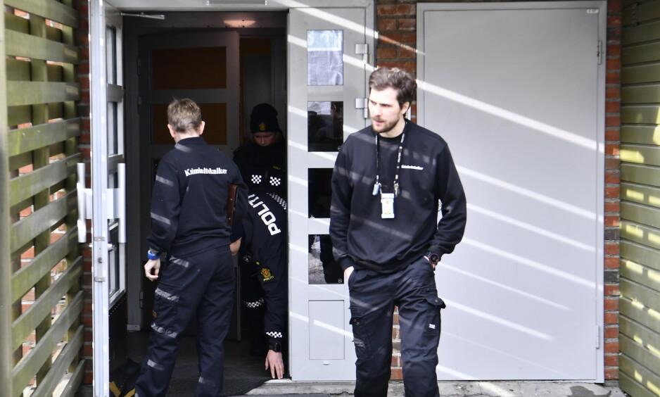 SØNNEN SIKTET: En mann er siktet for å ha drept sin egen mor i Oslo. Foto: Lars Eivind Bones