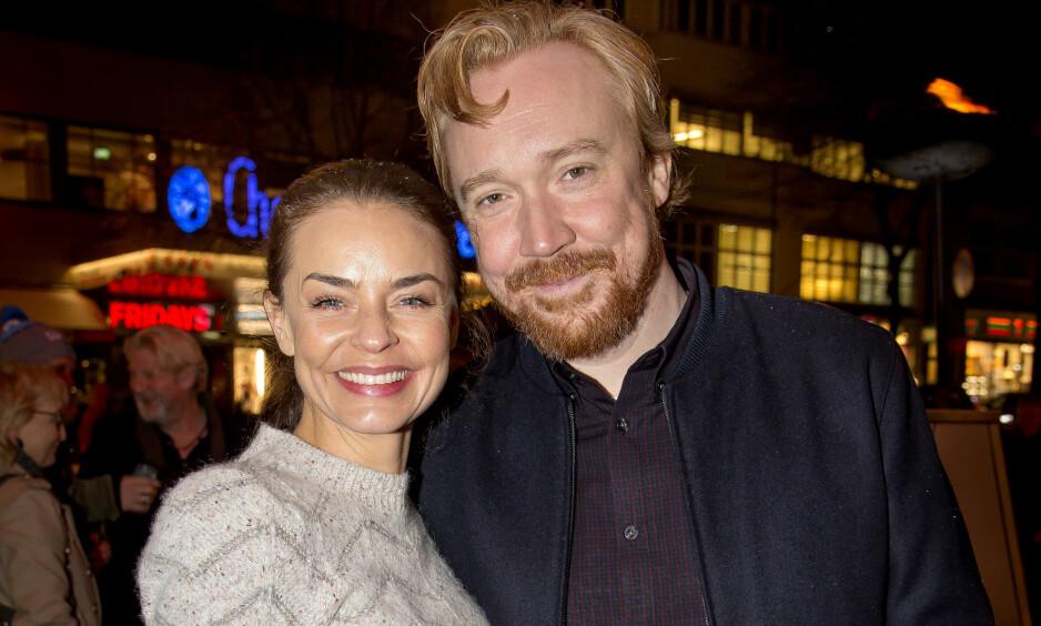BABYLYKKE: Skuespiller Agnes Kittelsen og musiker-ektemannen Lars Winnerbäck er blitt foreldre til sitt første felles barn. Foto: Tore Skaar