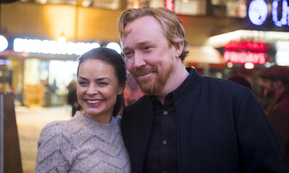 FORELDRE: Agnes Kittelsen og ektemannen venter sitt første barn sammen. Foto: NTB Scanpix