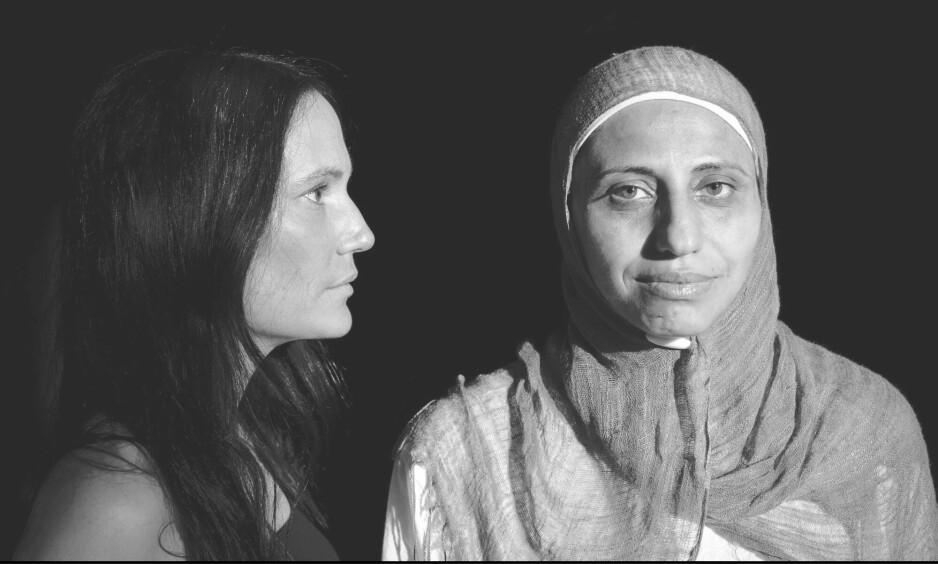 TIL HELGA: Nå kommer et teaterstykke av to kvinner den israelske kulturministeren tidligere har forsøkt å stilne på snarvisitt til Norge, et land som lenge har vært forskånet for slike inngripener. Stykket «I, Dareen T.» vises på Vega scene denne helga, og det vil også finne sted en kunstnersamtale i samarbeid med Norsk PEN. Foto: Vega Scene.