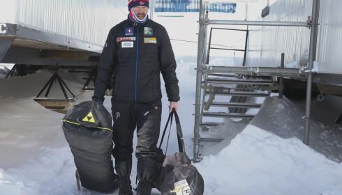 MIDT I DRAMAET: Trond Nystad skulle hjelpe Østerrike til resultater uten dop. Han er tilsynelatende blitt sviktet av to av løperne. FOTO: Terje Pedersen / NTB scanpix