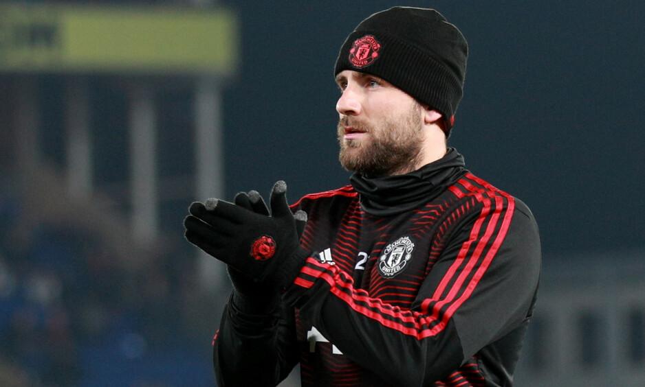 IMPONERER: Manchester United-venstreback Luke Shaw. Foto: Ian Walton / Reuters / NTB Scanpix