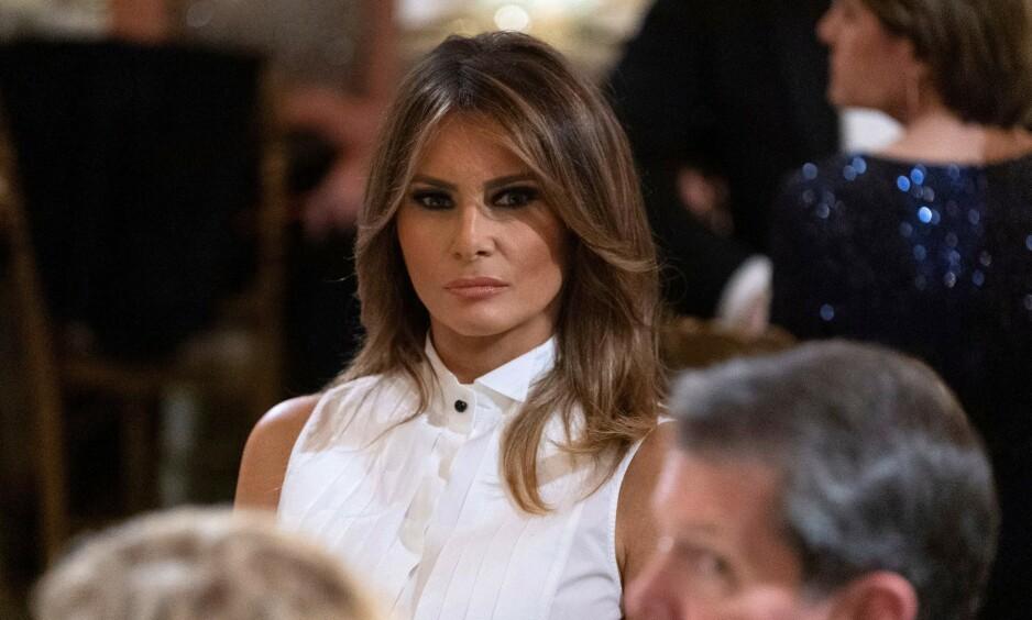 VITNEMÅL: Selv om Michael Cohens vitnemål skulle handle om hans tid som ansatt for Donald Trump, ble også Melania et samtaleemne. FOTO: NTB Scanpix