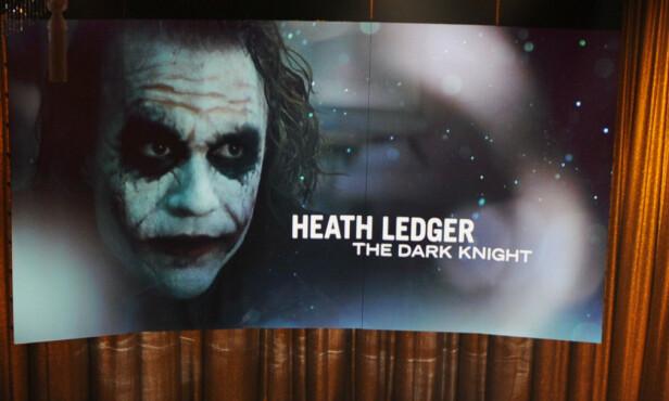 STORE SKADER: Skadene hunden ble påført på munnen ligner på «Jokeren» i Batman-filmen «The Dark Knight». Foto: NTB Scanpix