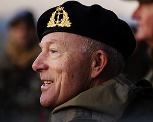 AVVISER STRUKTURELT PROBLEM OG UKULTUR: Forsvarssjef Haakon Bruun-Hanssen. Foto: Ole Martin Wold / NTB scanpix