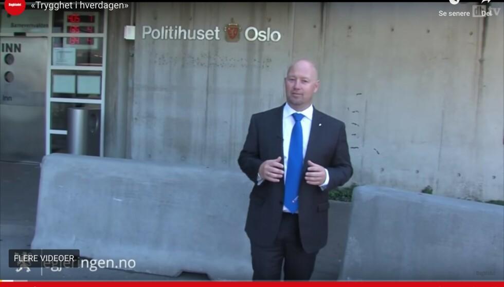 URO: Det ble bråk da tidligere justisminister Anders Anundsen (Frp) fikk produsert en film internt i departementet for å presentere alle sakene mediene ikke omtalte.
