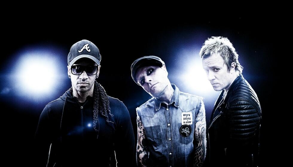 THE PRODIGY: Det britiske elektro-punkbandet The Prodigy kommer til Norge i august. Foto: Pressebilde
