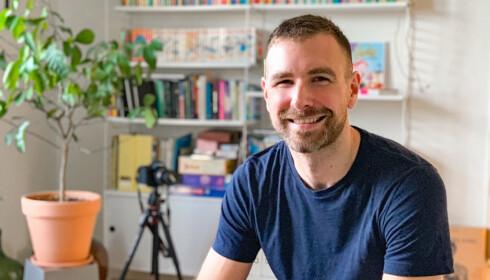 STO FRAM: Serien var med på å hjelpe Kenneth Larsen til å stå fram som homofil. Foto: Privat