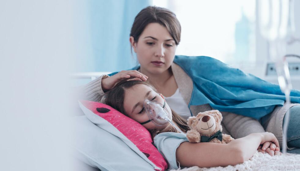 POTENSIELT DØDELIG: Det er først og fremst mødre som lider av diagnosen Münchausen by proxy, der de kan skade sitt eget barn for å få barnet til å framstå som sykt. Illustrasjonsfoto: NTB scanpix