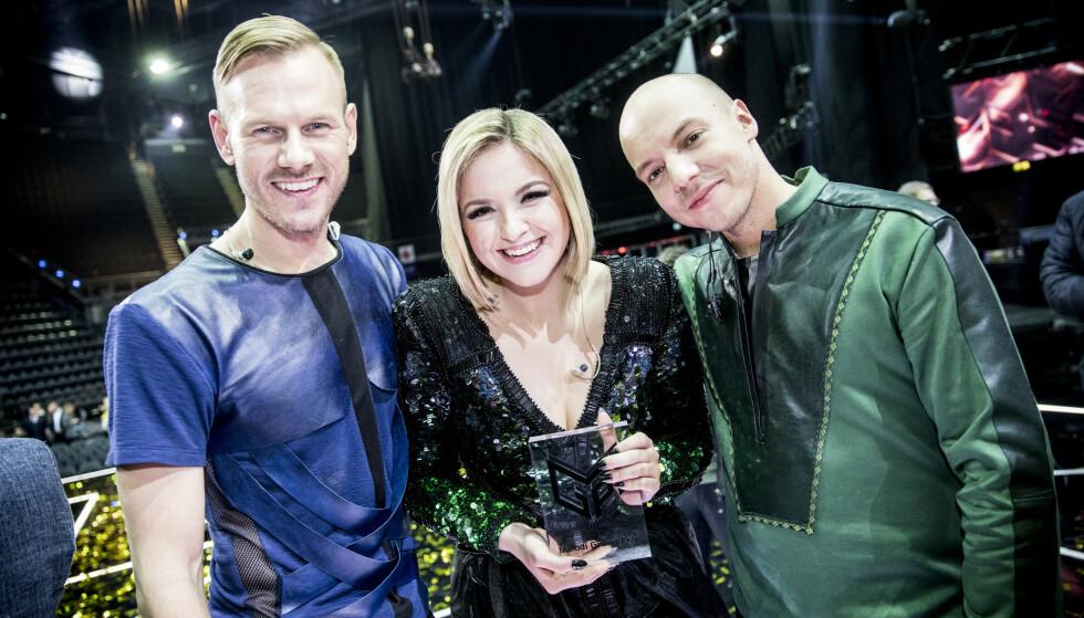 TRIO: KEiiNO består av (f.v.) Tom Hugo, Alexandra Rotan og Fred Buljo. Foto. Christian Roth Christensen / Dagbladet