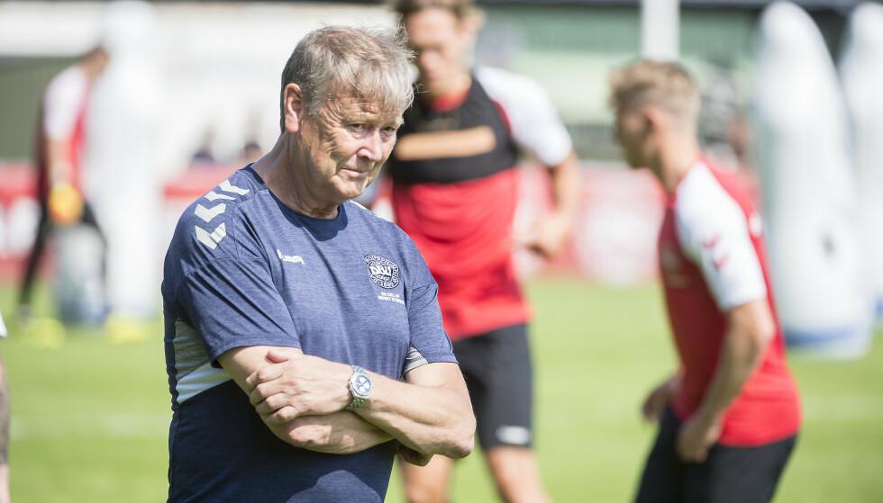 VANT PRIS: Åge Hareide er kåret til årets trener i Danmark. Foto: Hans Arne Vedlog/Dagbladet