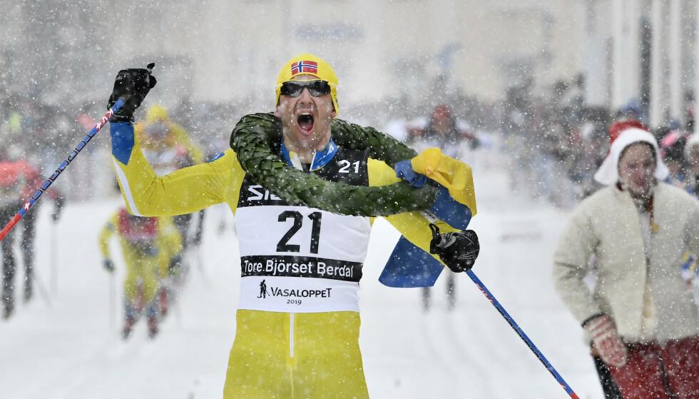 SEIERHERRE: Tore Bjørseth Berdal. Foto: Ulf Palm/TT/NTB Scanpix
