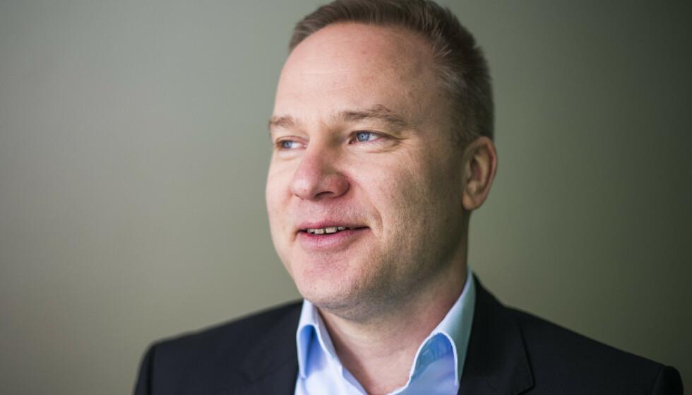 - SABOTASJE: Helge Lurås er redaktør for nettstedet Resett.no. Foto: Håkon Mosvold Larsen / NTB scanpix