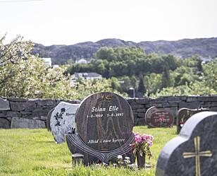 ETTERMÆLE: Stian Elle er gravlagt på Førre kirkegård. For familien har det vært viktig at også Stians versjon kommer fram.
