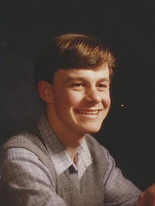 GLEDESSPREDER: Stian Elle som tenåring. – Han var en fin gutt, morsom og med herlig humor, sier klassekamerater.  Foto: Privat