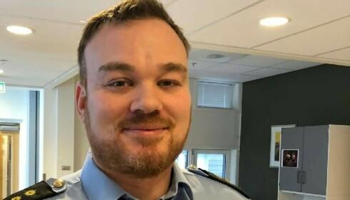 EN PRAT: Espen Thunestvedt i Øst politidistrikt mener slike saker kan løses med en bekymringssamtale. Foto: Politiet i Follo